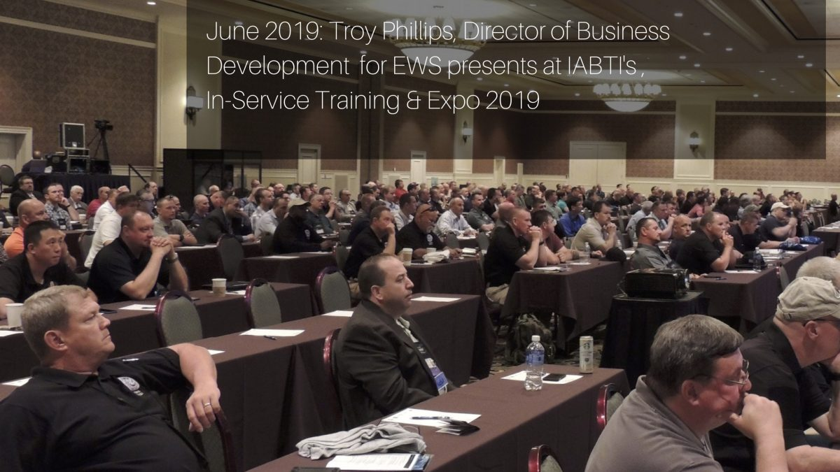 EWS to present at IABTI Training Conference IABTI in June 2019