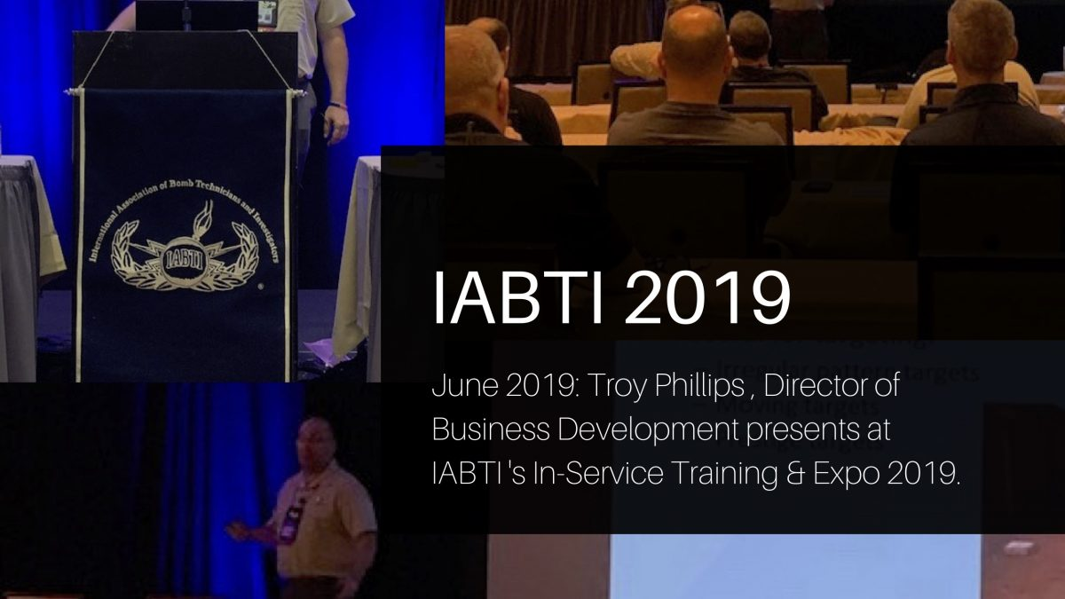 Troy Phillips from EWS presents at IABTI 2019