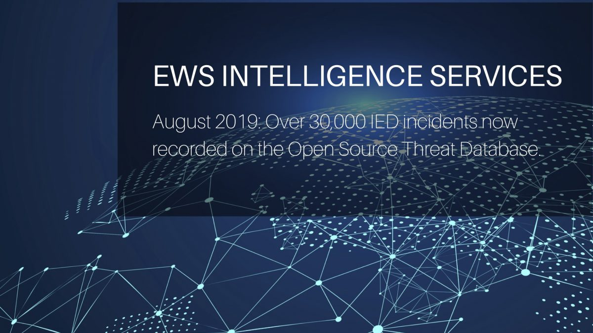 30,000 entries on Open Source Threat Database by EWS