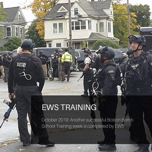 EWS Training - Boston Bomb Squad and EOD training Oct 2019
