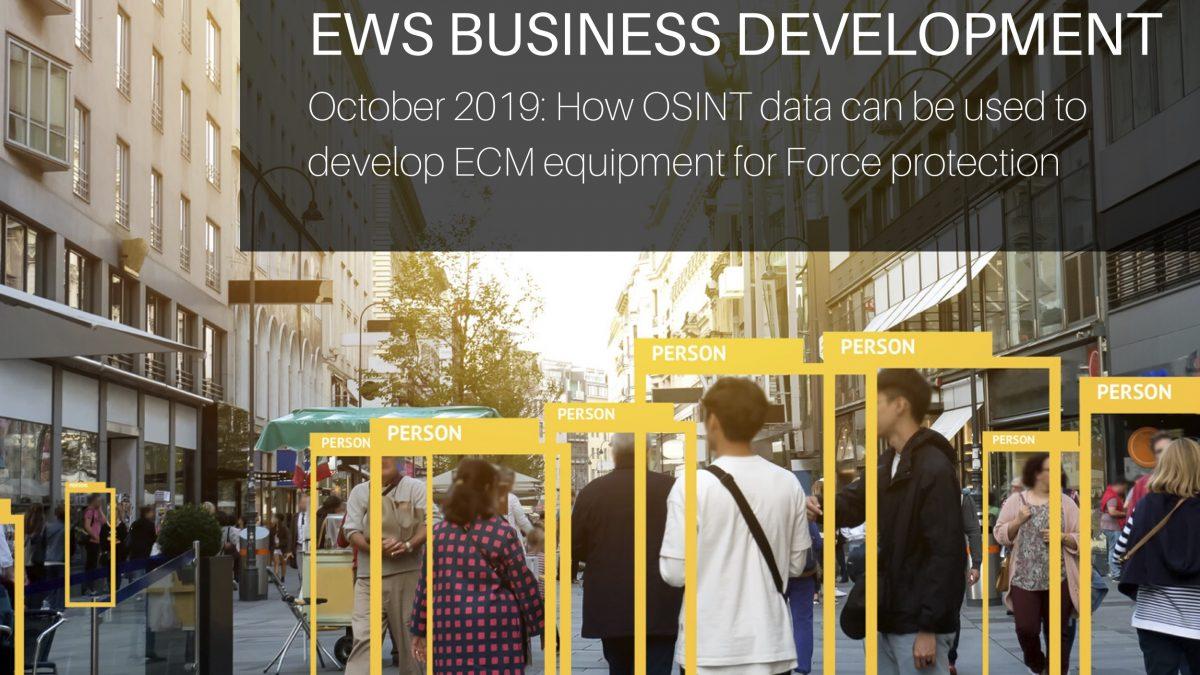 how OSINT data is used to develop ECM equipment