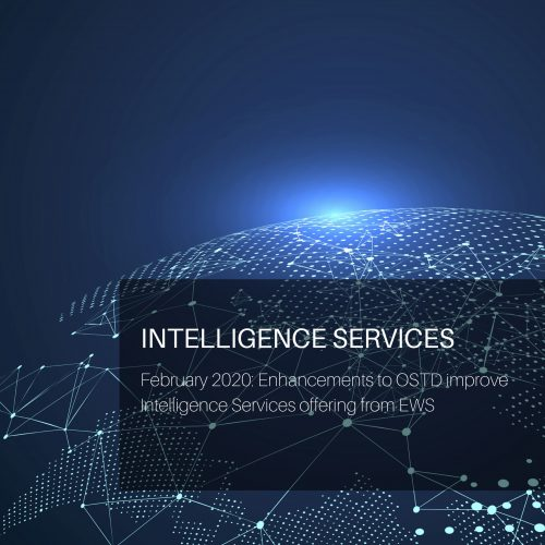 Enhancements to OSTD improve Intelligence Services offering from EWS