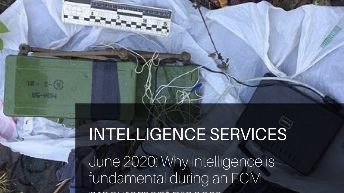 Why intelligence is fundamental during an ECM procurement process