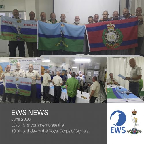 EWS FSRs celebrate the Centenary of the Royal Corps of Signals