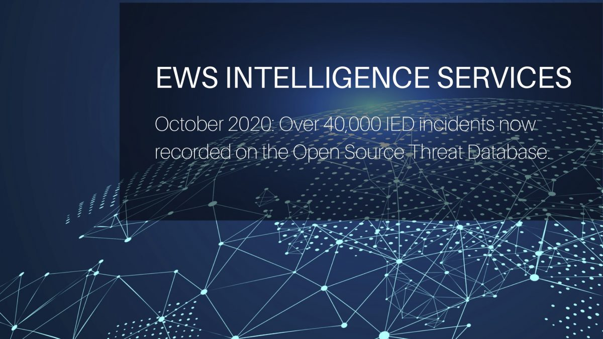 The OSTD is the world's leading improvised threat intelligence source from EWS