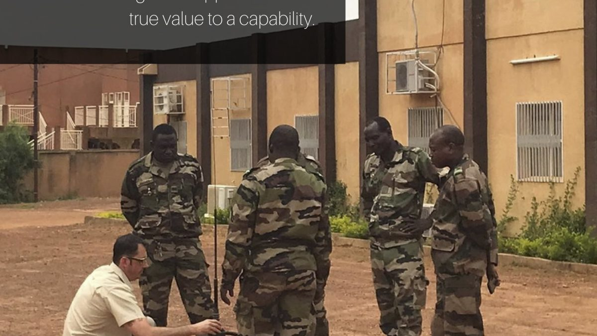 EWS - Why training and through life support adds real value to capability