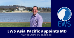 Stu Jackson is appointed Managing Director of EWS Asia Pacific